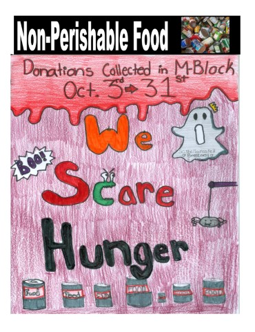 We Scare Hunger Food Drive
